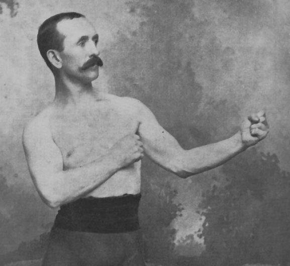 Чемпион бокса Джон Моррисси