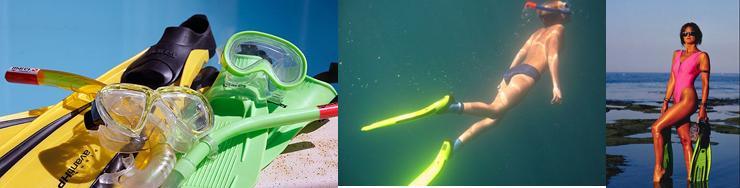 Ласты для плавания резиновые