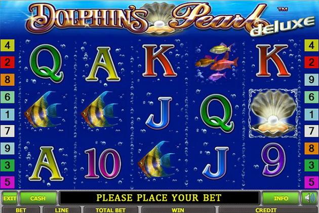 Надоели стандартные карточные игры? Попробуй игровой автомат Dolphin's Pearl